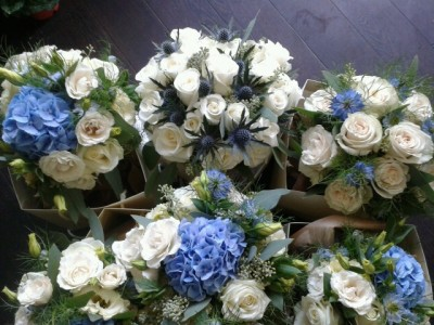 Bridal Bouquet & Bridesmaid